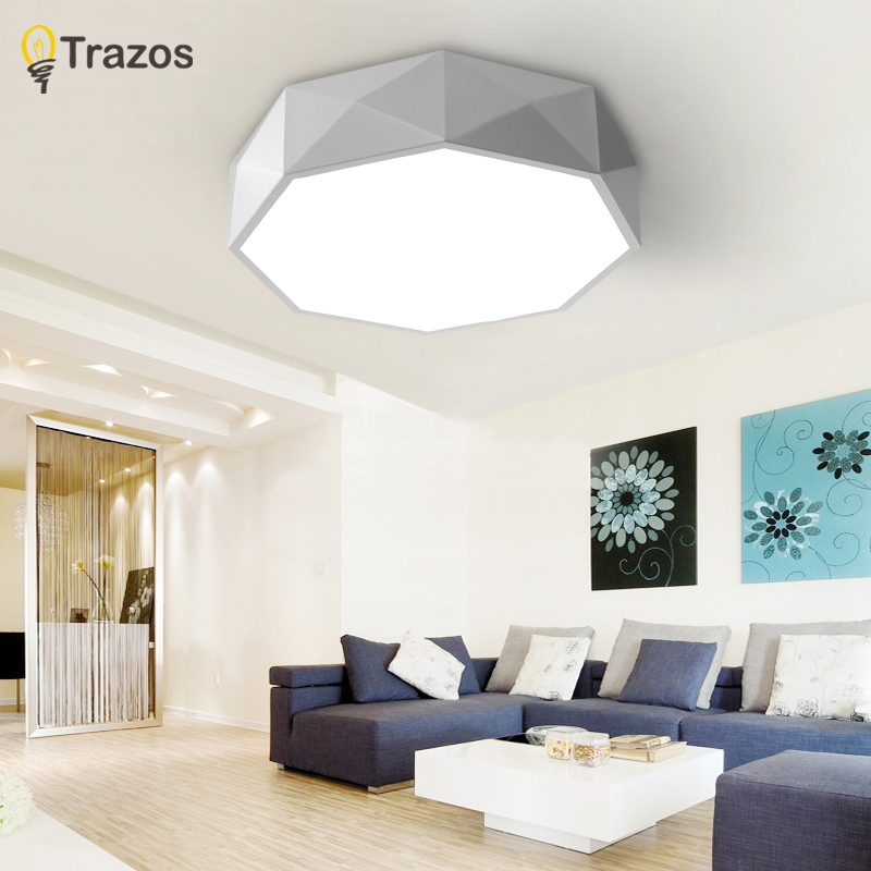 New 2017 Modern led ceiling lights for living room bedroom Plafon led home Lighting ceiling lamp home lighting light fixtures new modern led ceiling lights for living room bedroom plafon home lighting combination white and black home deco ceiling lamp