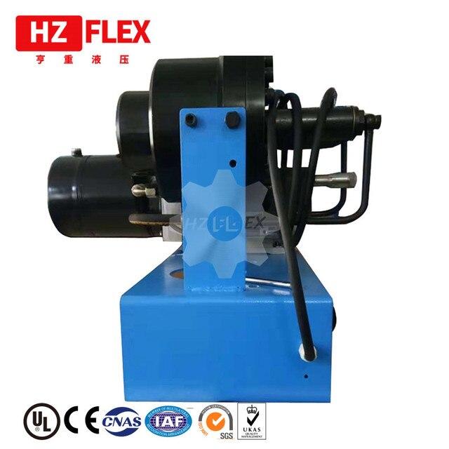 2019 HZFLEX HZ-25A Ce largement utilisé nouveau Style moderne en acier fil hydraulique tuyau sertissage prix de la Machine