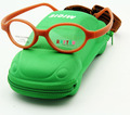 Free Shipping Brand  Design Flexible Oval Children Glasses Carbon Fiber  Kids Accessories with Case