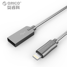 font b ORICO b font Scharge Lightning to USB Cable for iPhone Cable 3ft 100cm
