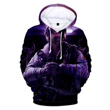 High Quality new 3D Print Rainbow Six Siege Hoodies Men women Fashion Warm Harajuku Mens
