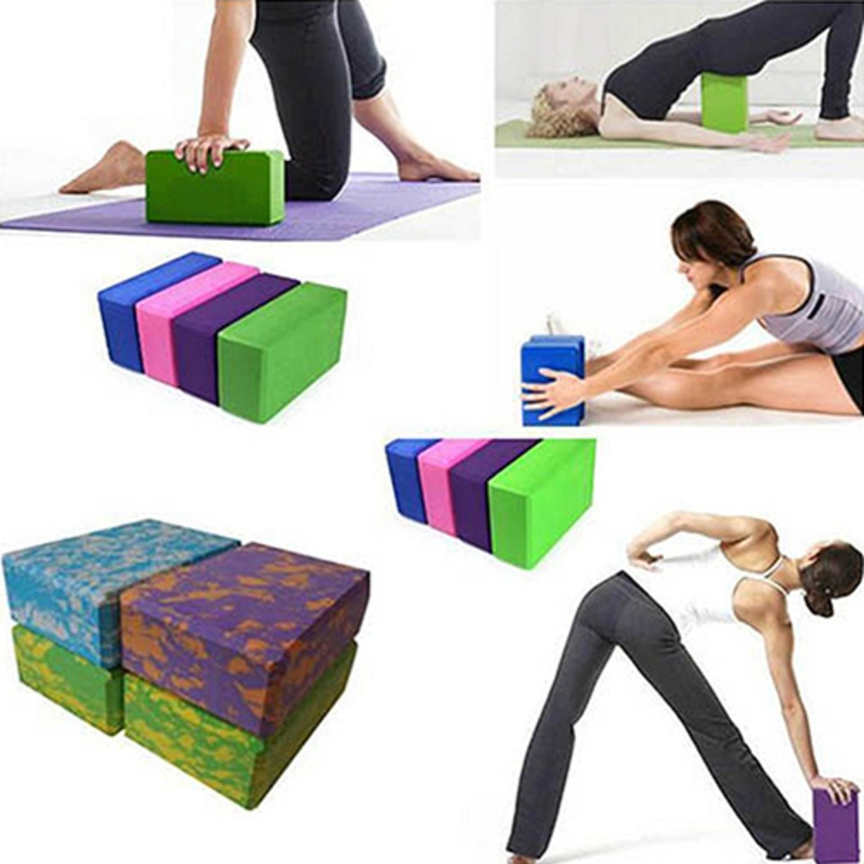 Eva Gym Yoga Block Foam Brick Yoga Bolster Pillow Cushion Stretching Aid Body Shaping Health Training Fitness Pilates Yoga Brick Yoga Block Foam Brickyoga Block Foam Aliexpress
