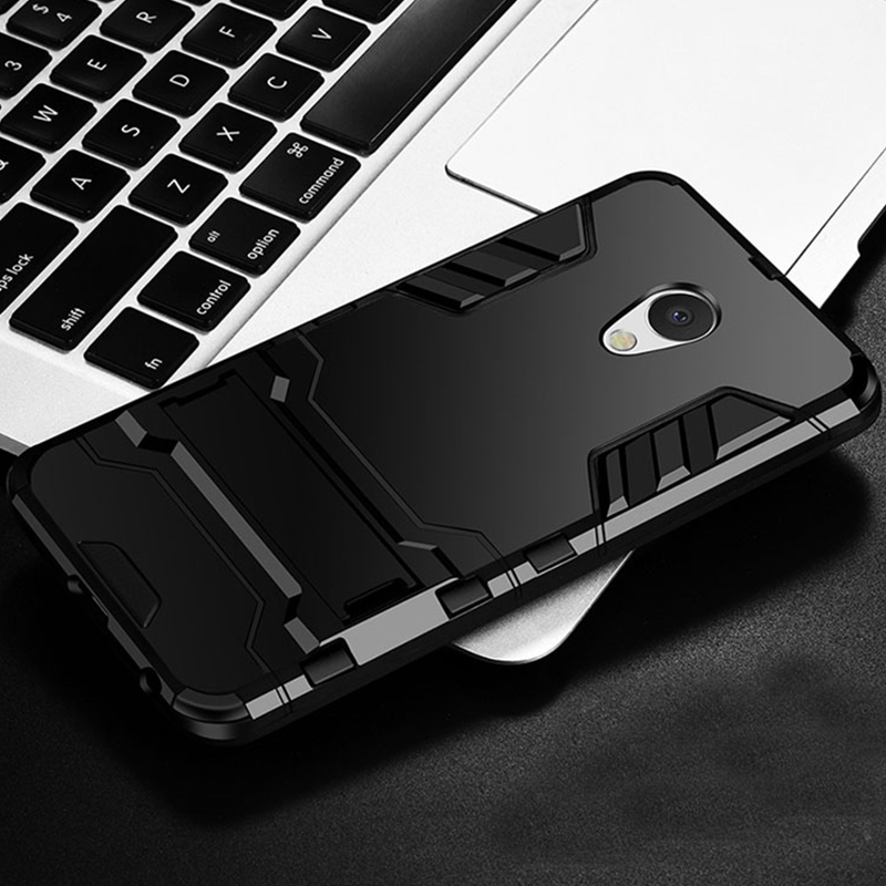 Case Armor Shockproof Stand Silicone Soft Protect Back Cover 1