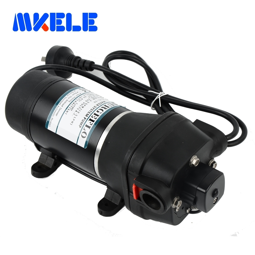 FL 32 33 220 110v ac water pump self priming diaphragm pump mini Submersible pump automatic