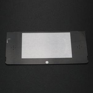 Image 2 - YuXi 10 יח\חבילה החלפת פלסטיק למעלה קדמי LCD מסך מסגרת עדשת כיסוי עבור Nintendo עבור 3DS