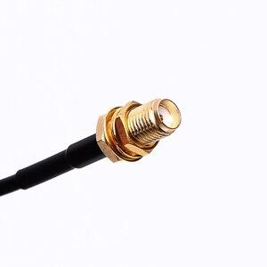 Image 3 - Portátil walkie talkie antena otário mini tipo SMA F porta para baofeng UV 5R UV 82 BF 888S walkie talkie rádio