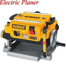 Электрический деревообрабатывающий строгальный станок для обработки древесины многофункциональный небольшой строгальный станок 2200 Вт строгальный станок DW735