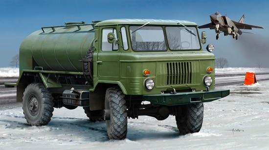 Trumpeter 1:35 01018 Russian GAZ-66 Oil Truck - New