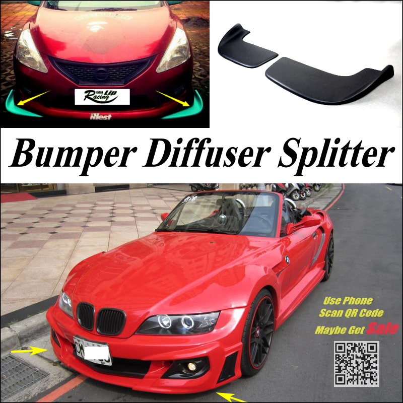 Bmw Z 3 For Sale: Car Splitter Diffuser Bumper Canard Lip For BMW Z3 E36 E36