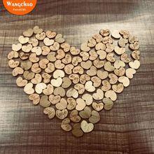 corazones madera RETRO VINTAGE