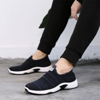 2018 Summer Autumn Men's Shoes Casual Lovers Couple Shoes Fashion One Pedal Mesh Flat Shoe Big Plus Size 39 44