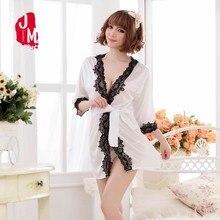 2018 Short Satin Robe Women Silk Summer Bathrobe Mini Bride Kimono Bridesmaid Robes Wedding Solid Lace