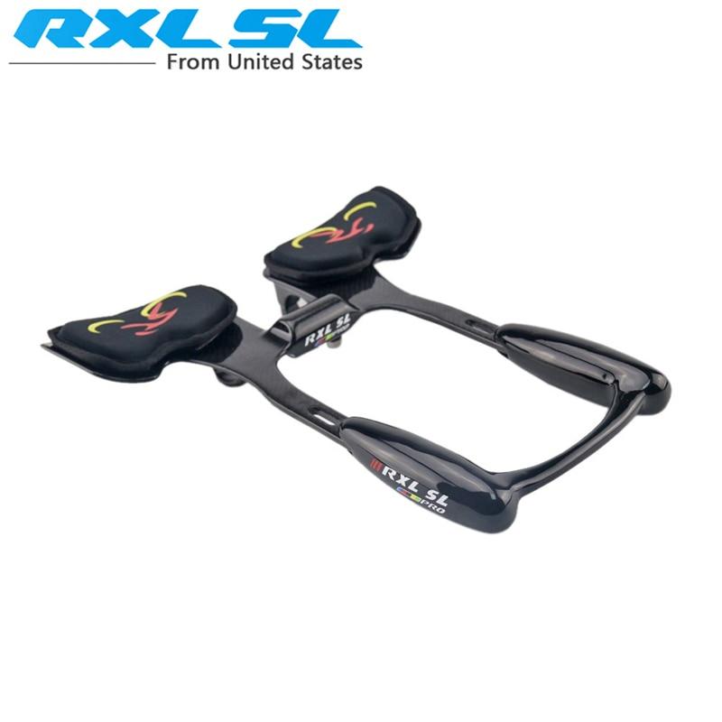 RXL SL Bullhorn TT Handlebar Triathlon Bicycle Extender Rest TT Handlebar Road Bike 31 8mm 3K