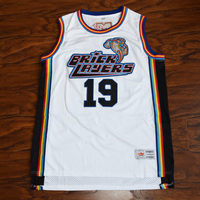 MM MASMIG Aaliyah 19 Brick Layers Basketball Jersey Stitched White MTV