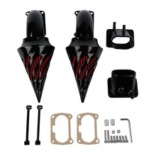 купить Balck Spike Air Cleaner Kit Intake Filter Black For Suzuki Boulevard M109 M109R2 M109R Boss Limited Edition по цене 7576.06 рублей