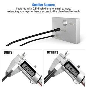 Image 2 - Cámara endoscópica Ancel WIFI 5,5 MM cámara de inspección usb 1080P para iPhone Android PC IP67 impermeable Cámara boroscopio semirrígido