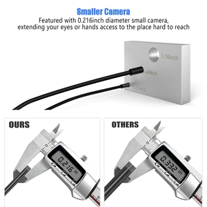 Image 2 - Endoscope Camera Ancel WIFI 5.5MM usb Inspection Camera 1080P for iPhone Android PC IP67 Waterproof Semi rigid Borescope Camera