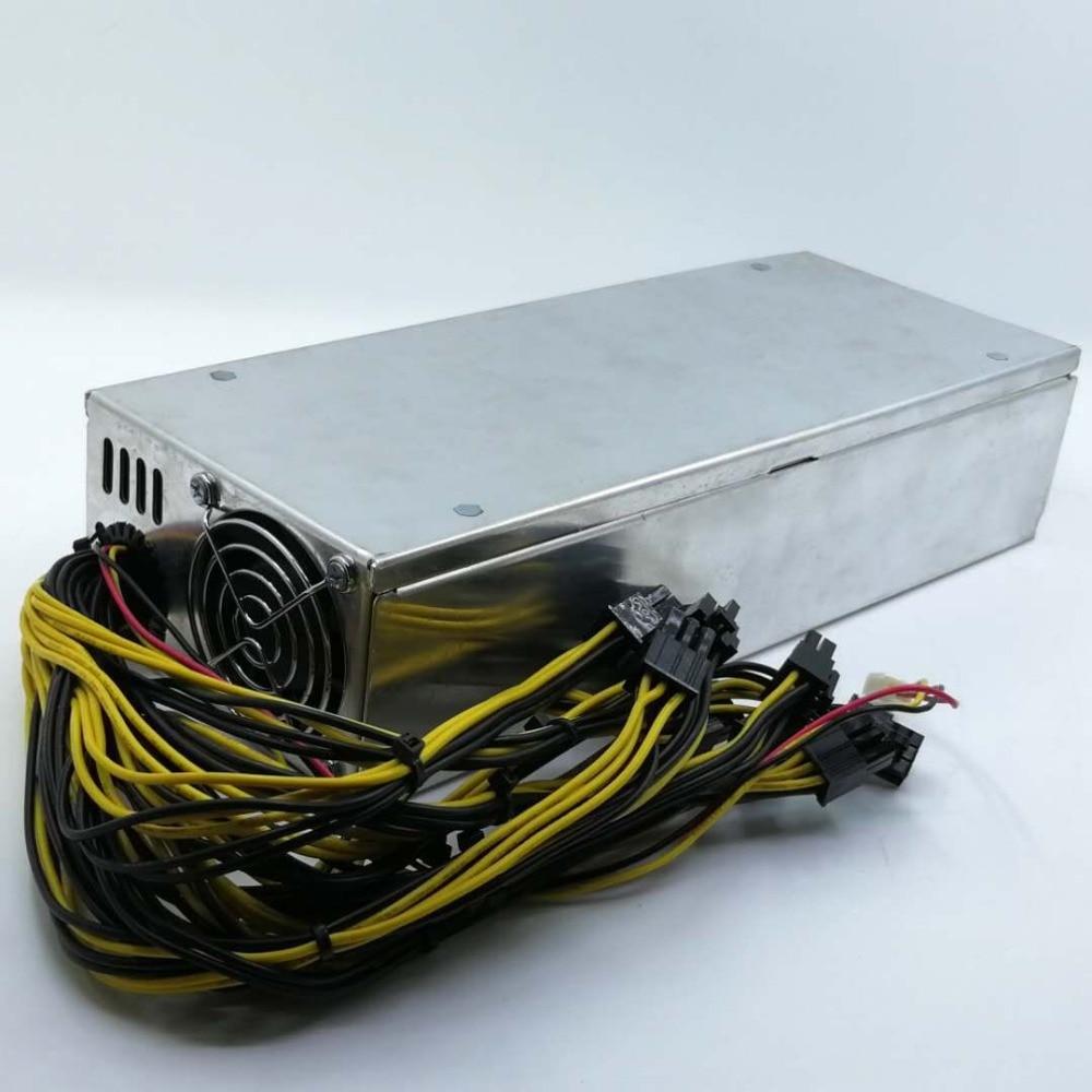 Creative 2400w Power Supply Antminer 2400w Psu For Apw3 Apw3++ L3 L3++ D3 M3 X3 R4 E8 T9 S7 S9 Eth Rig Ethereum Btc Bitcoin Miner Mining