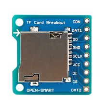 OPEN-SMART Micro SD / TF Card Breakout to DIP Board Module for Arduino DIY Micro SD / TF Card Adapter Breakout Board Module