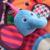 Esteira do Jogo do bebê Recém-nascido Engatinhando Tapete Infantil Jogo Brinquedos Divertidos Grande Espelho Mordedor Animais Panda Leão Elefante -- DBYC087 PT49