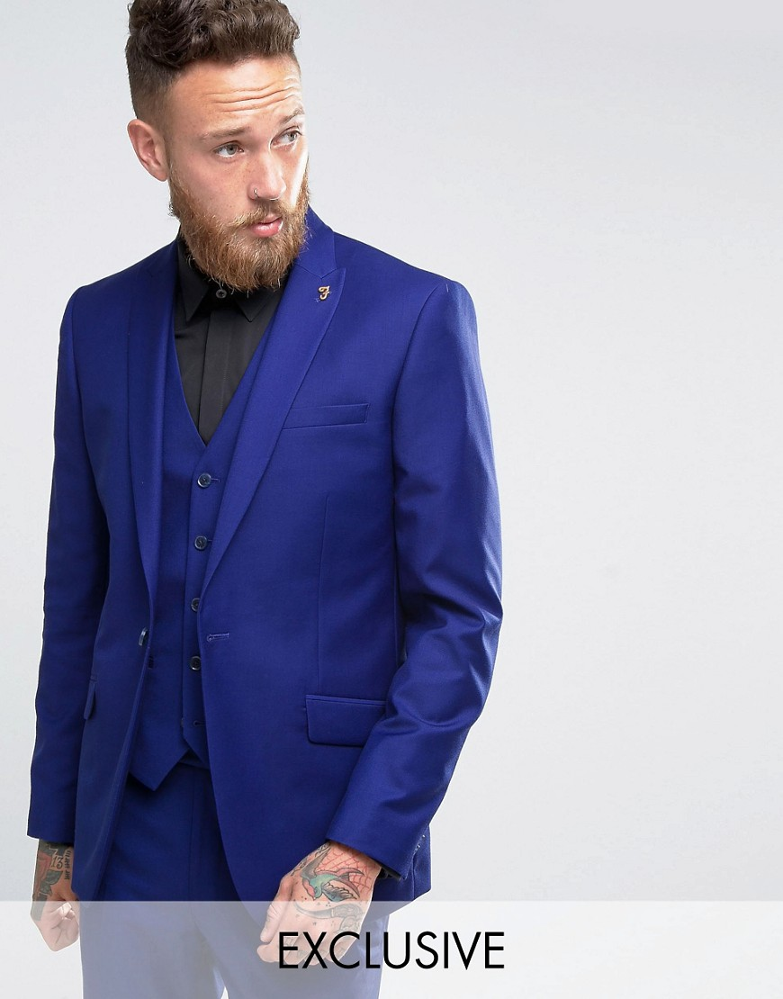2016 Custom Made blazer masculino Royal Blue Wedding Prom Suits ...