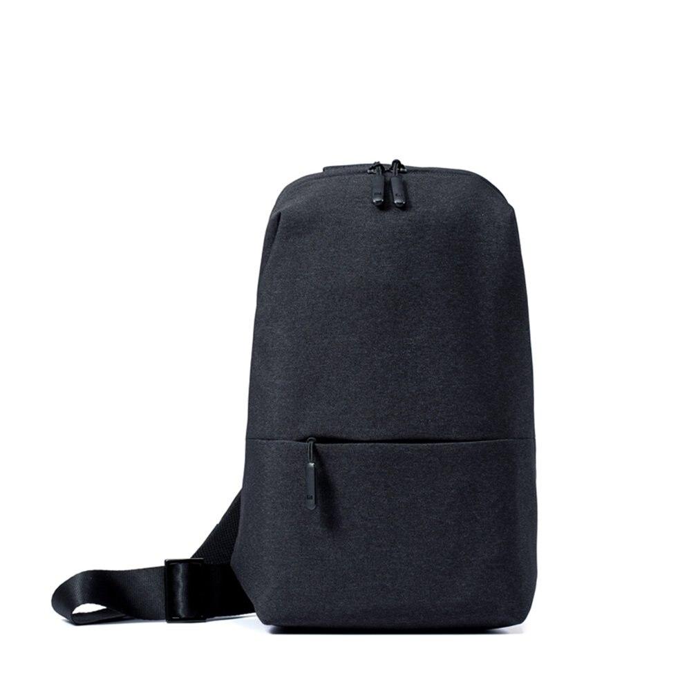 Xiaomi mi унисекс водостойкий Ми nimalist городской рюкзак для отдыха груди пакет Стиль рюкзаки 4L 7 дюймов планшетный компьютер