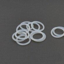 2шт 3,1 мм диаметр провода Белый силиконовый уплотнительное кольцо внешняя водонепроницаемая изоляционная Резина полоса 195 мм-230 мм наружный диаметр