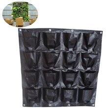 Hängen Wand Topf mit 16 Seiten Specical Pflanzkissen/pflanzentöpfe für Gemüse Balkon gemüse plastikblumentöpfe Heißer verkauf