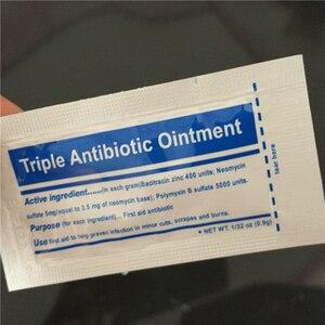 Image 2 - 0.9 g/pak Triple Antibiotica Zalf Gel voor Brandwonden Ehbo kit Accessoires Dressing Burn Crème Wondverzorging Anti infectie