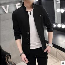 men jacket spring jacket men Spring new men's jacket Korean version of casual men's wild Slim jacket coat free shipping