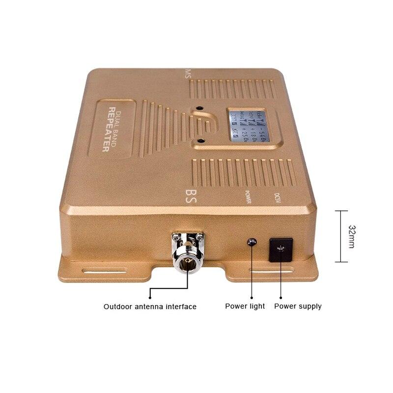 Speciellt för Ryssland, dcs gsm repeater 2g 4g cellulär signal - Reservdelar och tillbehör för mobiltelefoner - Foto 3