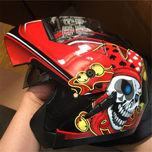 Hot sale  Flip Up Motorcycle Helmet Modular Moto Helmet With Inner Sun Visor Safety Double Lens Racing Full Face Helmets  S-2XL best sales safe full face helmet motorcycle helmet flip up helmet with inner sun visor everybody affordable size m l xl