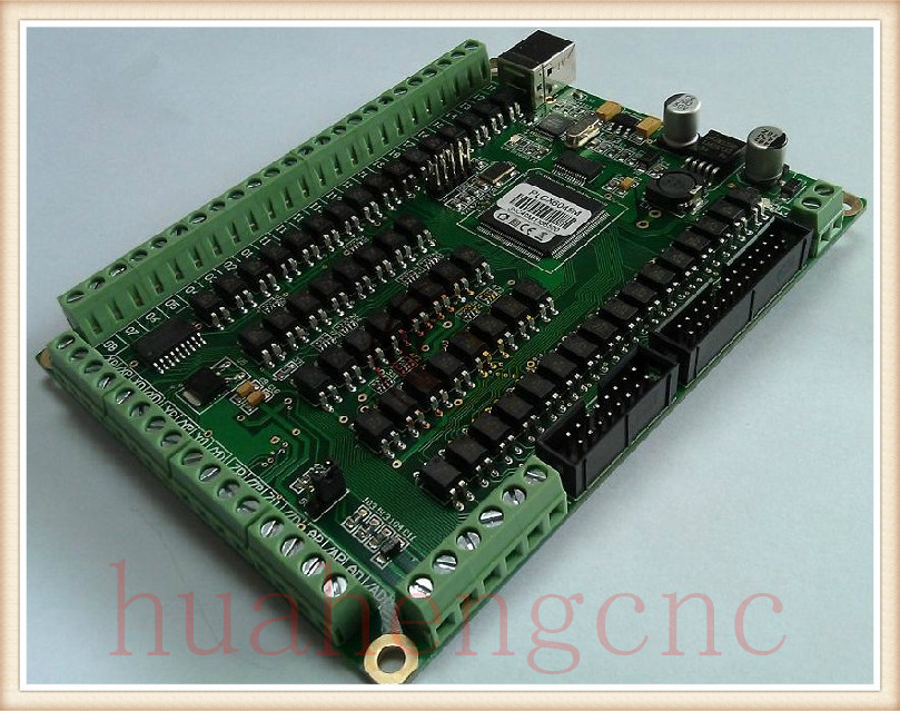 200KHZ 50M Industry Mach3 USB CNC 4 Axis Breakout Board Carving Machine Control System Card 1pcs