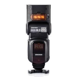 Image 3 - 永諾YN968EX RTフラッシュスピードライト高速同期ttlワイヤレスでledライト用キヤノン5 diii 6d 7DII 60d 1100d 1200d 1000D700D