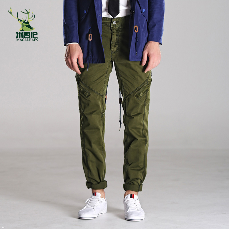 Lavado Cargo Mens Militar Marca Pantalones Recta Casual 100 Hombre Algodón Camuflaje Ejército Loose xFwtzFqp4