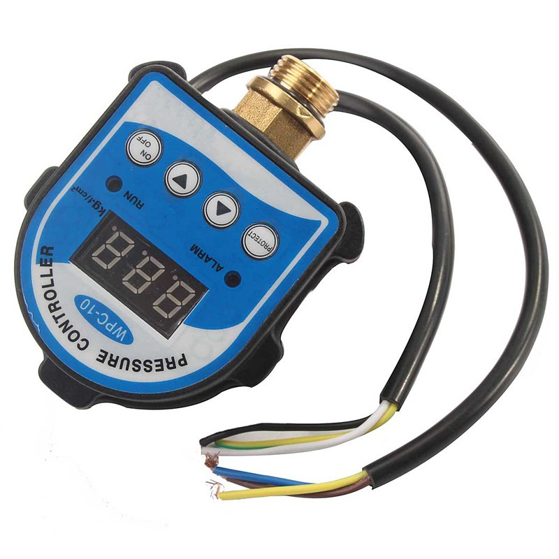 Intelligent WPC 10 Eletronic Digital Pressure Switch Digital Display Pressure Controller For Water Pump Electrical Equipment