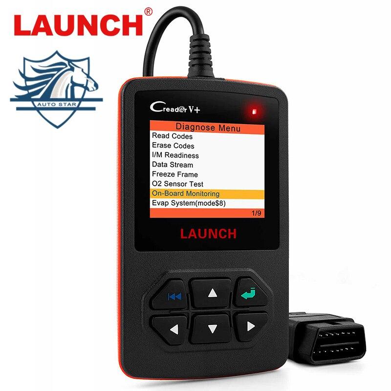 LAUNCH X431 Creader V+ OBD2 Diagnostic Tool Automotive Scanner Fault Code Scanner