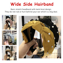 Chic Hot Drilling  Headbands Girls Wide Side Hairband Shiny Rhinestone Hair Accessories Rosette Hoop