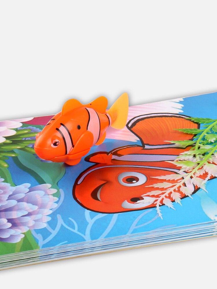 Grand poisson perdu/poisson du livre/enfants tours de magie accessoires de magie