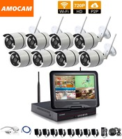 1280 720P HD Wireless Outdoor Network IP Security Camera 8CH 720P HD WIFI NVR Wireless CCTV