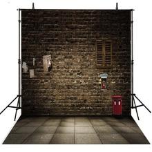 Brick Wall Photography Backdrops Vinyl Backdrop For Photography Vintage Background For Photo Studio Children Foto Achtergrond