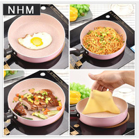 NHM 1 pcs Small fry pan mini non stick pan pancakes with egg 20cm cooking tools