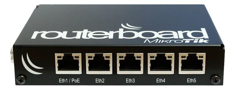 RB850Gx2 Mikrotik Routerboard 850G Dual Core 500 MHz 512 MB 5 portas Gigabit OSL5 PowerPC
