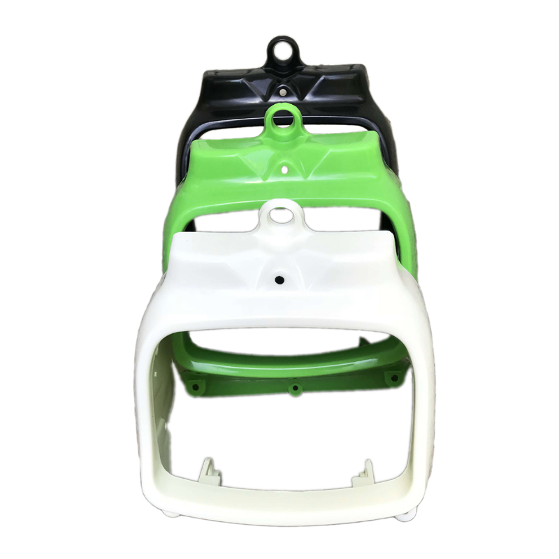 2 Colors For Kawasaki KLX250 KLX 250 D-Tracker X 2008-2016 Rear Side Cover Cowl Fairing White