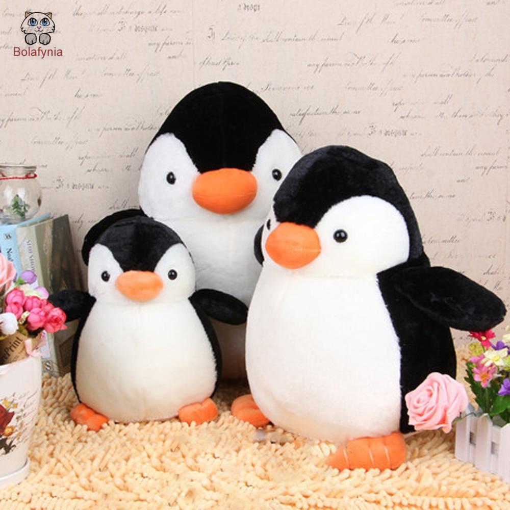 BOLAFYNIA Creativo nuevo pingüino niños juguete de peluche muñeca regalo de cumpleaños Juguete de peluche