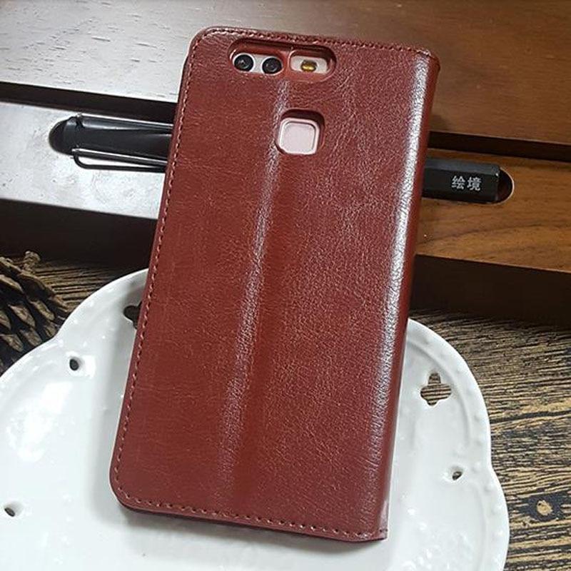 Mode Flip Étui En Cuir Pour Huawei P9 Mate 8 Nova P9 Plus P8 Lite Honor 8  Mobile Téléphone Couverture de Poche Coque Peau cas bed40e48af53