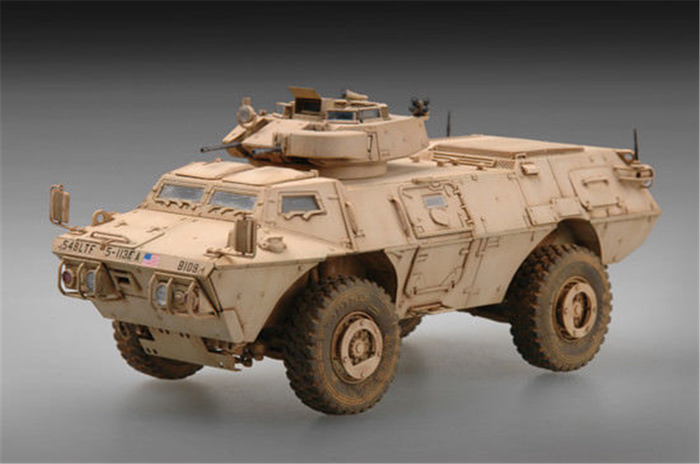 1pcs Action Figures Kids Gift Collection For Trumpeter 1/72 07131 M1117 Guardian Armoured Security Vehicle (ASV) Model