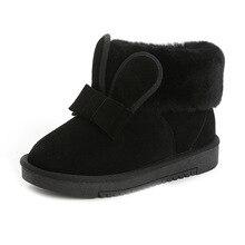 Abedake теплые фирменные ботинки 2017 без каблука повседневные женские зимние ботинки зима сплошной цвет на плоской подошве Нескользящие женские ботильоны
