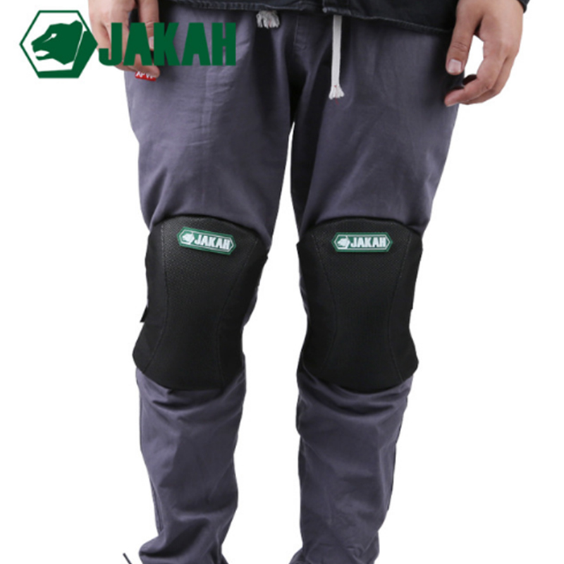 JAKAH Construction Workers Outdoor Elastic Knee Set Knee Pads For Work Protective Kneepads