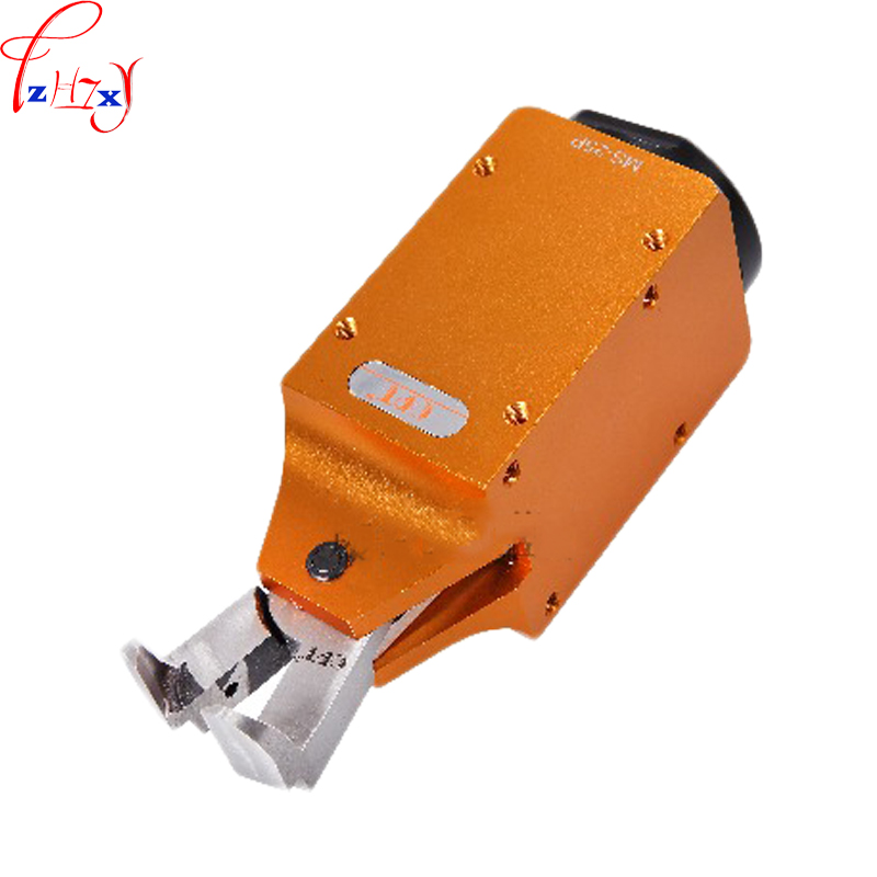 купить New Pneumatic air shears MS-20 + F5LW L-type right angle tongs special air shear for plastic nozzle pneumatic tools 1pc по цене 9479.43 рублей